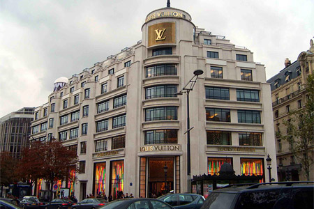 Louis Vuitton, Parijs